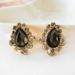 $enCountryForm.capitalKeyWord Canada - Fashion brand alloy golden statement Austria drop crystal ear clip rhinestone lovely elegant earrings jewelry