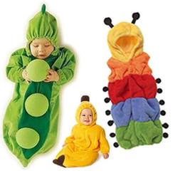 China hot sale Baby sleeping bag caterpillar pea banana in sleeping bags sack 1 2 3 Layers for choices supplier banana baby clothing suppliers