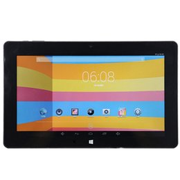 china tablet android bluetooth UK - 10.6 inch Tablet Cube i10 Dual Boot PC Android Windows 10 2GB 32GB Intel Z3735F Bluetooth 1366x768
