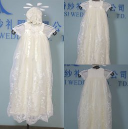 Robes Faites Sur Mesure En Première Communion Pas Cher-Real Image Cheap First Communion Robes Livraison gratuite Dentelle Applique Jewel Décolleté A Line Short Sleeve Custom Made Pageant Robes