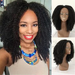 $enCountryForm.capitalKeyWord Canada - Glueless Lace Front Virgin Hair Wigs Kinky Curly Brazilian Virgin Hair Full Lace Wig For Black Women With Baby Hair Free shipping