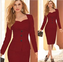 Lady L Robe À Bas Prix Pas Cher-2017 New Arrival Women Cheap Sexy Ladies Designer Femmes Mode Rouge Casual Robes Party Gowns