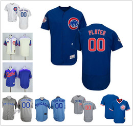 2017 custom chicago cubs jersey Customized Chicago Cubs Alternate Royal  Flex Base Custom ... bdf1c6e42