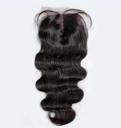 7a peruvian loose wave closure online shopping - 7A Lace Closure Body Wave Deep Curly Kinky Straight Loose Wave Straight Unprocessed Brazilian Indian Malaysian Peruvian Human Hair