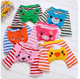$enCountryForm.capitalKeyWord Canada - on sale 3pcs lot Free Shiping Baby PP pants baby cotton Girls Boys Leggings Busha PP Pants kids clothing Children's Leggings & Tights