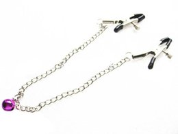 sm sex play 2019 - Sex Toys Metal Chained Lady Nipple Clip Clamps SM Erotic Play BDSM Bondage Gear Adult Products 50pairs lot XLY1131 cheap