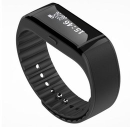 smart bluetooth activity bracelet Canada - Touch Screen OLED Bluetooth Smart Bracelet Band for iPhone Smartphone Sync Activity Tracker Health Pedometer Smart Wirstband E7C