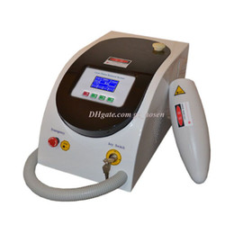 acne scar machine UK - New 1064nm & 532nm Q Switch Nd Yag Tattoo Removing Pigmentation Removal Laser Beauty Machine for Scar Acne Removal