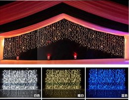$enCountryForm.capitalKeyWord NZ - Fairy3m*1m 150 LED curtains string Garland light Christmas new year Wedding Holiday Party Home luminaria Decoratio100v-220v EU UK US AU plug