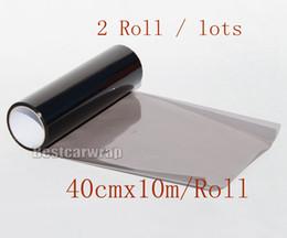 Smoke lampS online shopping - 10 Rolls cmx10m light smoke Headlights Tinting Headlamp Tint film Light black smoke Tint Vinyl styling lamp graphics DIY