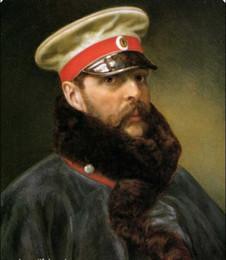 $enCountryForm.capitalKeyWord Australia - Tsar Alexander II Portrait,Genuine Handpainted Portrait Art Oil Painting On High Quality Canvas,in customized size accepted