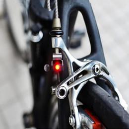 $enCountryForm.capitalKeyWord Canada - Portable Mini Brake Bike Light Mount Tail Rear Bicycle Light Cycling LED Light High Brightness Waterproof red LED lamp BL1901