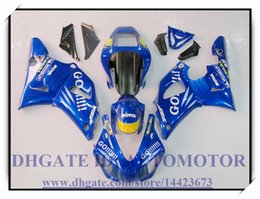 98 r1 fairing blue Australia - Injection brand new fairing kit 100% fit for YAMAHA YZF1000 YZF R1 1998-1999 YZFR1 1998 1999 YZF R1 98 99 #BA772 COLOUR BLUE