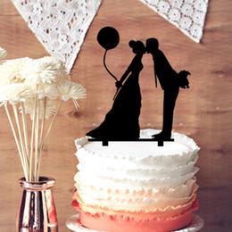 $enCountryForm.capitalKeyWord Canada - Rustic Wedding Cake Topper Silhouette Groom and Bride, Acrylic Cake Topper, Kissing Couple Script Cake Topper