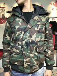 Warmest Goose Down Parka Canada - 2017 Brand Fashion Coat Men Winter Warm Overcoat Goose Down Jacket Bomber Parka Real Coyote Fur Collar Hooded snowsuit