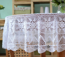 $enCountryForm.capitalKeyWord NZ - Huge size white color handmade crochet tablecloth Round, crochet pattern round table cloth for home decoration af029