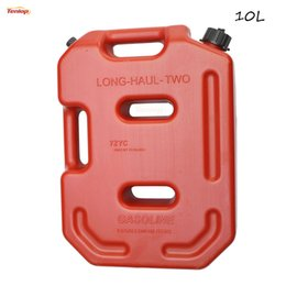 $enCountryForm.capitalKeyWord NZ - Hot Sale Practical Long-Haul Red 10L Fuel Tank Can Pack For Offroad SUV ATV Motorcycle Tricycle