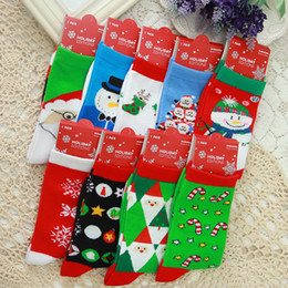 $enCountryForm.capitalKeyWord Canada - Christmas Socks Winter Santa Claus Socks Elk Snowflakes Tube Cotton Cartoon Sock Snowman Warm Thick Adult Women Gift