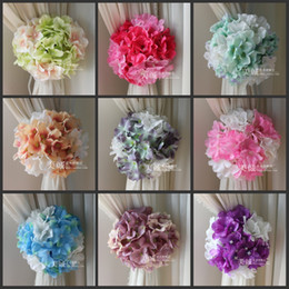 $enCountryForm.capitalKeyWord NZ - Artificial Hydrangea Flowers Craft Background Gauze Curtain Clip Bouquets For Wedding Backdrop Decoration Accessories 10 color
