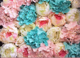 $enCountryForm.capitalKeyWord Australia - Artificial peony heads DIY silk flower head for wedding home party decoration high quality flowers FB014