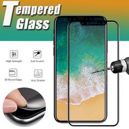 $enCountryForm.capitalKeyWord NZ - Carbon Fiber 3D Curved Soft Edge Tempered Glass Screen Protector Film for iPhone XS Max XR X 8 7 6 Plus Samsung Galaxy J2 J3 J4 J6 J7 Pro J8