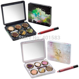 Power Palette Canada - 24pcs lot- wholesale brand new cosmetics eyeshadow palette 6 color OZ great&power The glinda odara eye shadow palette makeup,free DHLshiping