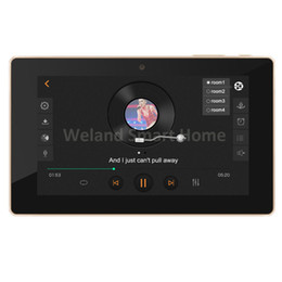 "$enCountryForm.capitalKeyWord UK - Freeshipping 7"" touch screen In wall android amplifier,home audio USB player, HDMI,WIFI audio digital stereo amplifier,home theater system"