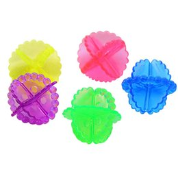 Chinese  Colorful Transparent Laundry Balls Soft Decontamination Anti Winding Washing Ball Corrosion Resistant Ceaning Tools Hot Sale 0 22re B manufacturers