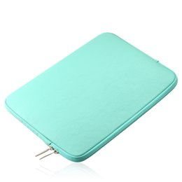 Chinese  NEW PU Leather Waterproof Laptop Sleeve Bag Protective Zipper Notebook Case Computer Cover for 11 13 15inch For Macbook Air Pro manufacturers