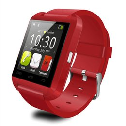 Smart Watch Iphone Android NZ - Bluetooth Smartwatch U8 U Watch Smart Watch Wrist Watches for iPhone 6s 7 Samsung Galaxy S7 Note 7 HTC Android Phone Smartphones