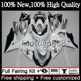 $enCountryForm.capitalKeyWord Australia - Fairing Bodywork For SUZUKI GSX-R1000 GSXR 1000 09 10 11 12 13 15 33PG14 GSX R1000 K9 GSXR1000 Gloss white 2009 2010 2011 2012 2014 2015