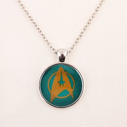 $enCountryForm.capitalKeyWord Canada - 2015 New Fashion Star Trek Necklace Star Trek Pendant Science Medical or Operations pendent Glass Dome Necklace