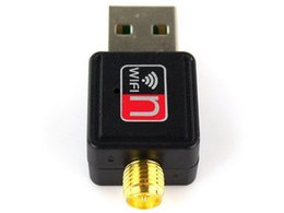 $enCountryForm.capitalKeyWord NZ - HOT selling Mini 150M 2.4GHz USB WiFi Wireless Network Networking Card LAN Adapter with Antenna 802.11 n g b Ralink