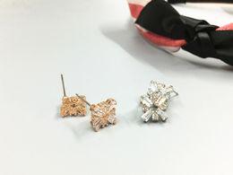$enCountryForm.capitalKeyWord Canada - Europe and the lovely square import hao Shi Chao flash elegant wedding dress joker stud earrings