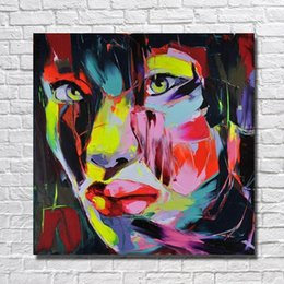 $enCountryForm.capitalKeyWord NZ - Living Room Wall Pictures Abstract Women Face Oil Painting Hand Painted Painting on Canvas Wall Decor No Framed