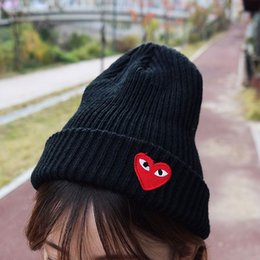 $enCountryForm.capitalKeyWord NZ - Wholesale New Boy Girl simple Hip hop Skull Eye Heart Cap Autumn Winter Hats Knitted Beanie Fashion Accessories