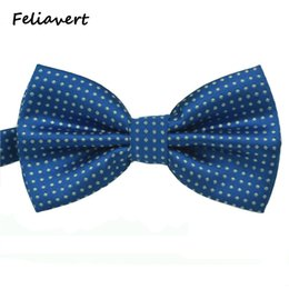 Ascot bow tie online shopping - Fashion Bow Tie New Formal Party Apparel Accessory Mens Ties Spot Style Multicolor Butterfly Polyester Dot gents Bowtie