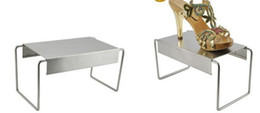 Steel Show Canada - 5 sets Stringy stainless steel shoes holder support keeper metal shoes showing display rack stand