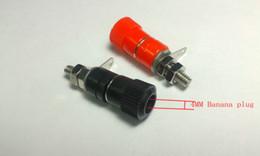 Connectors 4mm Australia - 10PCS Binding Post for 4mm Banana plug Amplifier connector