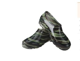$enCountryForm.capitalKeyWord NZ - 2018 all seasons male short tube simple short rain boots non-slip kitchen water shoes men Low help ankle Rain shoes Camouflage shoes