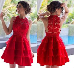eaeaa95feafb Short light blue Semi dreSSeS online shopping - Hot Red Sexy Short A Line  Homecoming Dresses