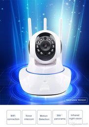 $enCountryForm.capitalKeyWord Australia - Mini CCTV WiFi Camera IP 720P Home Security Camera Wi-Fi P2P Two Way Audio Night Vision 3 Antennas Wireless Baby Monitor