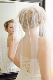Embroidered Elbow Length Veils NZ - Hot Fashion High Quality One Layer Elbow Length Wedding Veils With Beads Bridal Veil Accessories Without Comb
