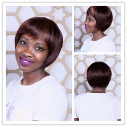 Discount dark highlighted hair 2017 dark light highlighted hair 2017 dark highlighted hair hot sell 10inch synthetic short bob wigs for white women heat resistant pmusecretfo Images