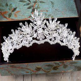 $enCountryForm.capitalKeyWord NZ - Baroque Rhinestone Crystal Beaded Headband Tiara bride crown luxury wedding Korean hair ornaments