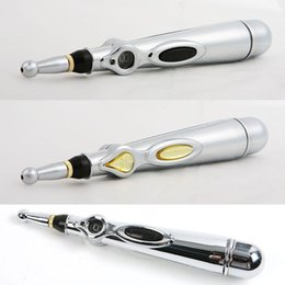 Meridian Massage Pen Canada - Christmas Gift Pain Relief Therapy Pen energy acupuncture pen electronic meridian acupuncture point detector therapy massage pen health care