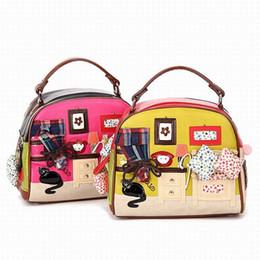 $enCountryForm.capitalKeyWord UK - Women Shoulder Bag Italy Braccialini Handbag Style Retro Handmade Bolsa Feminina For Ladies Candy Bolsos CAT home bags