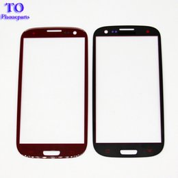 Discount touch screen s6 - Front Outer Touch Screen Glass Lens Replacement for Samsung Galaxy s3 s4 s5 s6 s7 free DHL