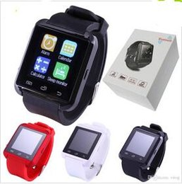 $enCountryForm.capitalKeyWord Australia - 2017 Bluetooth Smartwatch U8 U Watch Smart Watch Wrist Watches for iPhone 4 4S 5 5S Samsung s7 HTC Android Phone Smartphone