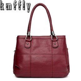 $enCountryForm.capitalKeyWord Canada - Luxury Handbags Women Bags Designer PU Leather Fashion Shoulder Bag Sac a Main Marque Bolsas Ladies Casual Tote Handbags